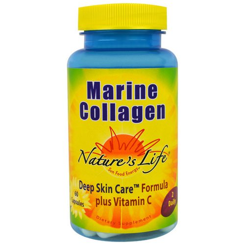 Nature's Life, Marine Collagen, 60 Capsules Review