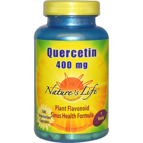 Nature's Life, Quercetin, 400 mg, 100 Veggie Caps Review