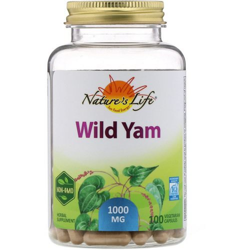 Nature's Life, Wild Yam, 1000 mg, 100 Vegetarian Capsules Review
