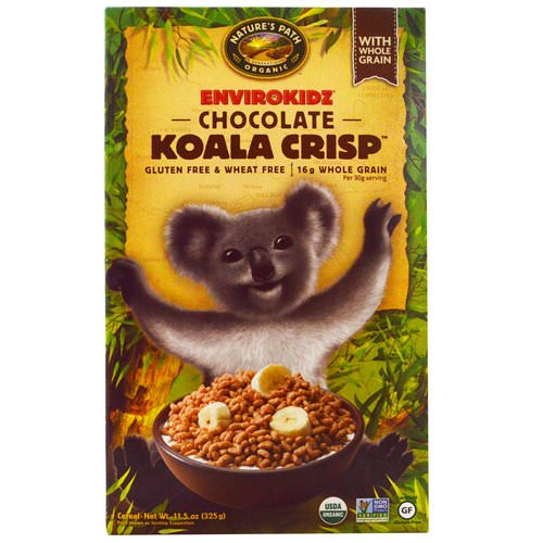 Nature's Path, EnviroKidz, Organic Chocolate Koala Crisp Cereal, 11.5 oz (325 g) Review
