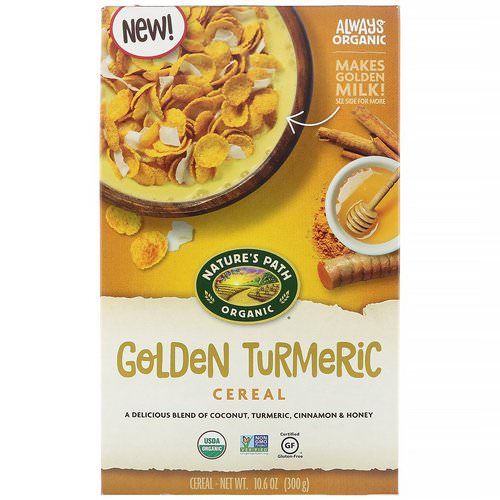 Nature's Path, Golden Turmeric Cereal, 10.6 oz (300 g) Review