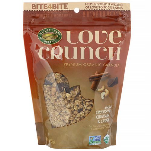 Nature's Path, Love Crunch, Dark Chocolate Cinnamon & Cashew, 11.5 oz (325 g) Review
