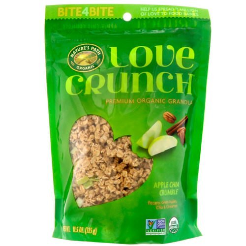 Nature's Path, Love Crunch, Premium Organic Granola, Apple Chia Crumble, 11.5 oz (325 g) Review
