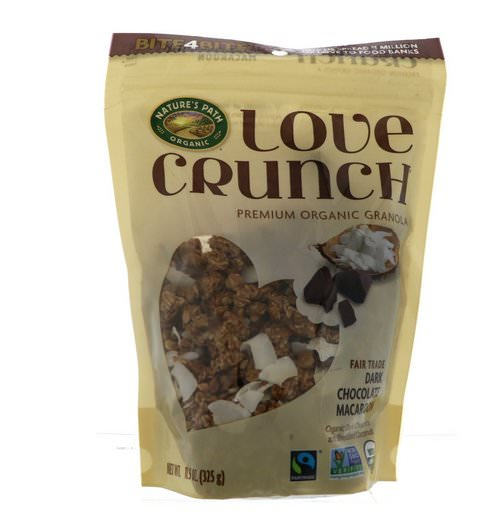 Nature's Path, Love Crunch, Premium Organic Granola, Dark Chocolate Macaroon, 11.5 oz (325 g) Review