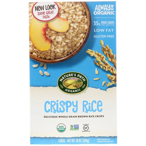 Nature's Path, Organic Crispy Rice Cereal, 10 oz (284 g) Review