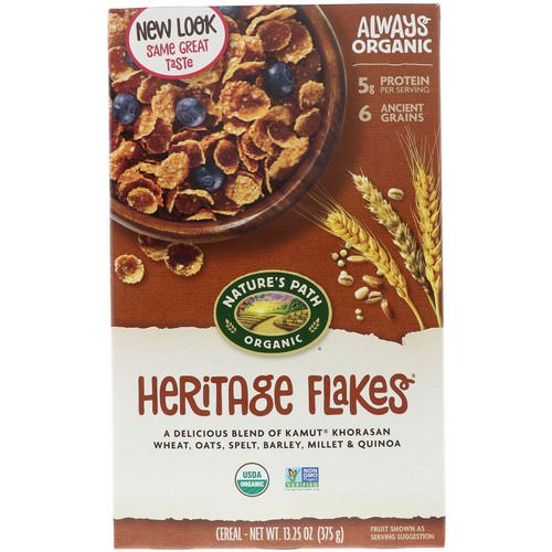 Nature's Path, Organic Heritage Flakes Cereal, 13.25 oz (375 g) Review
