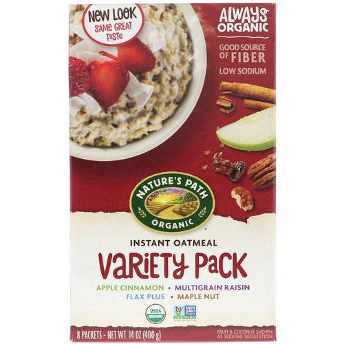 Nature's Path, Organic Instant Oatmeal, Variety Pack, 8 Packets, 14 oz (400 g) Review