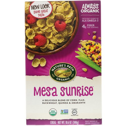 Nature's Path, Organic, Mesa Sunrise, 10.6 oz (300 g) Review