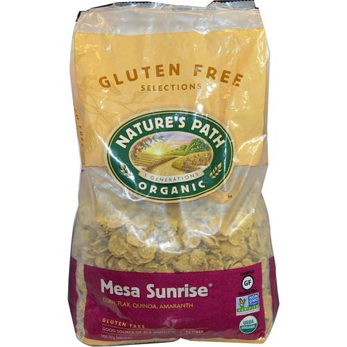 Nature's Path, Organic Mesa Sunrise, Gluten-Free Cereal, 1.65 lbs (750 g) Review