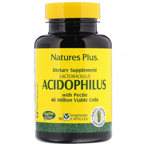 Nature's Plus, Acidophilus, Lactobacillus, 90 Vegetarian Capsules Review