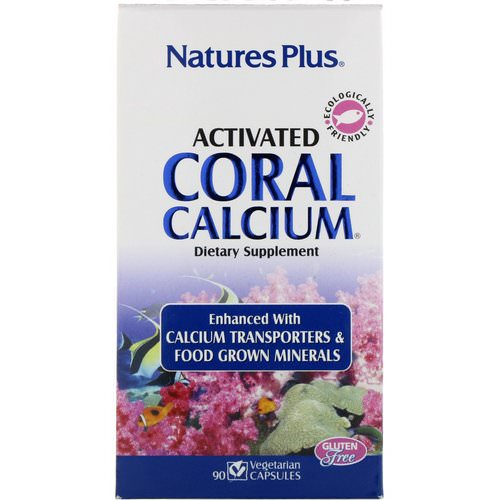 Nature's Plus, Activated Coral Calcium, 90 Vegetarian Capsules Review