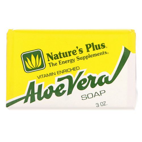 Nature's Plus, Aloe Vera Soap, 3 oz Review