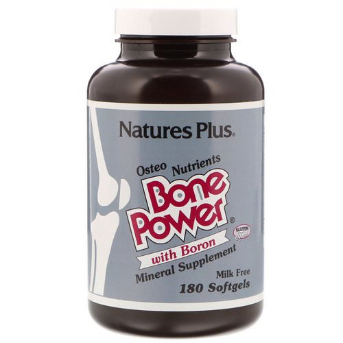 Nature's Plus, Bone Power, with Boron, 180 Softgels Review