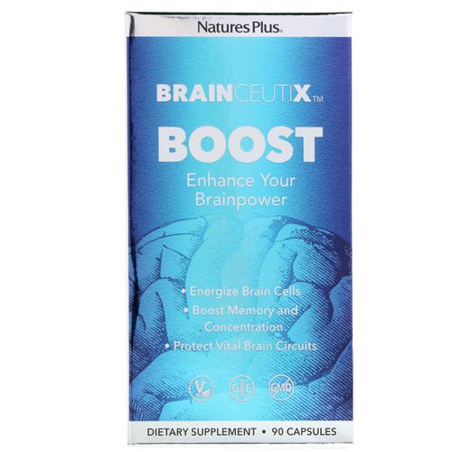 Nature's Plus, Brainceutix, Boost, 90 Capsules Review