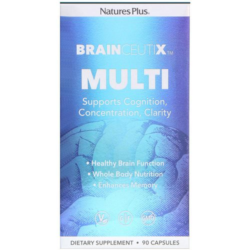Nature's Plus, Brainceutix, Multi, 90 Capsules Review