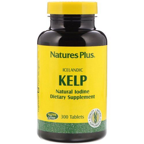 Nature's Plus, Icelandic Kelp, 300 Tablets Review