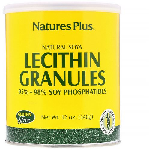 Nature's Plus, Lecithin Granules, Natural Soya, 12 oz (340 g) Review