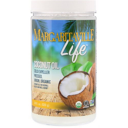 Nature's Plus, Margaritaville Life, Coconut Oil, 30 fl oz (820 g) Review