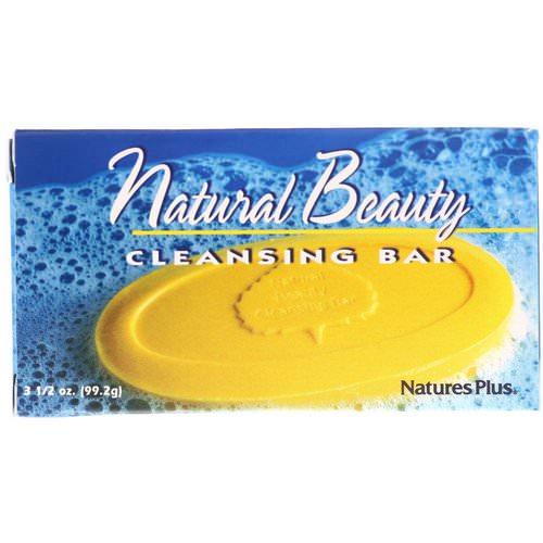 Nature's Plus, Natural Beauty Cleansing Bar, 3 1/2 oz (99.2 g) Review