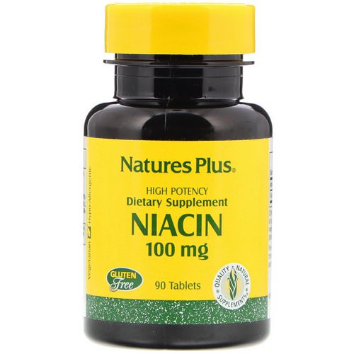 Nature's Plus, Niacin, 100 mg, 90 Tablets Review