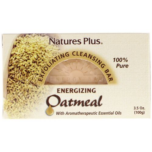 Nature's Plus, Oatmeal Exfoliating Cleansing Bar, 3.5 oz. (100 g) Review