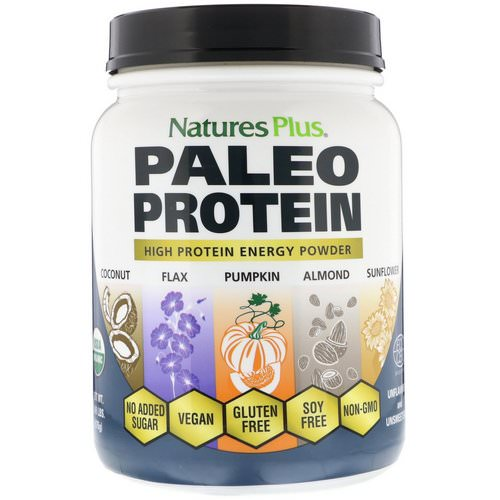 Nature's Plus, Paleo Protein Powder, Unflavored and Unsweetened, 1.49 lbs (675 g) Review