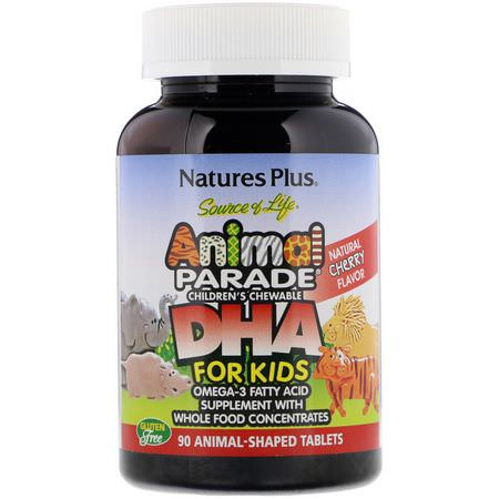 Nature's Plus, Children's DHA, Omegas