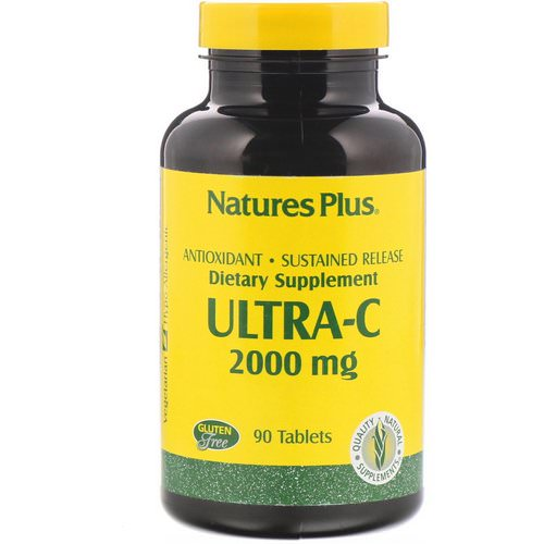Nature's Plus, Ultra-C, 2,000 mg, 90 Tablets Review