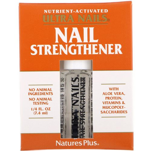 Nature's Plus, Ultra Nails, Nail Strengthener, 1/4 fl oz (7.4 ml) Review