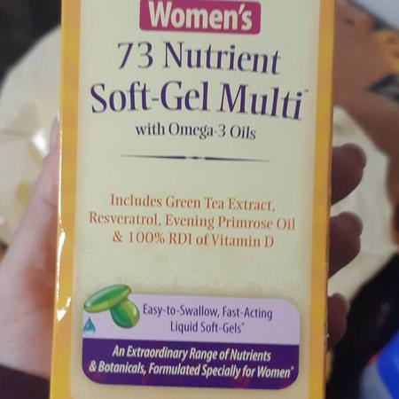 Women's 73 Nutrient Soft-Gel Multi with Omega-3 Oils