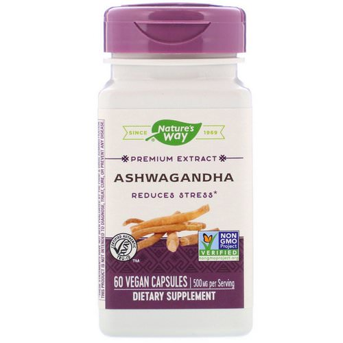 Nature's Way, Ashwagandha, 500 mg, 60 Vegan Capsules Review