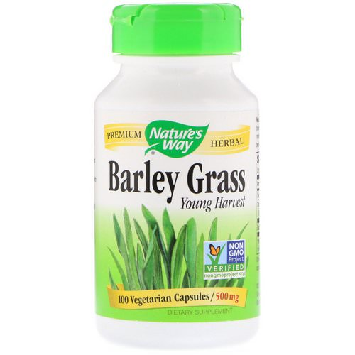 Nature's Way, Barley Grass, Young Harvest, 500 mg, 100 Vegetarian Capsules Review
