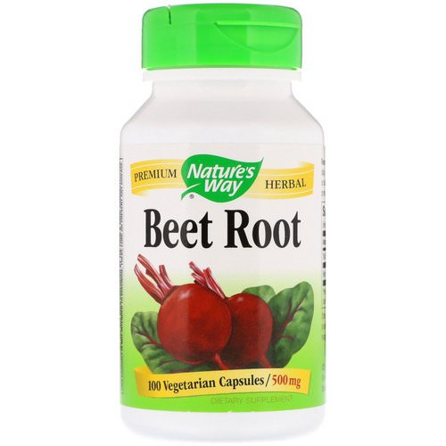 Nature's Way, Beet Root, 500 mg, 100 Vegetarian Capsules Review