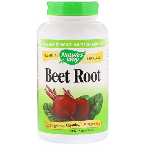 Nature's Way, Beet Root, 500 mg, 320 Vegetarian Capsules Review