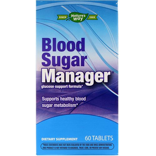 Nature's Way, Blood Sugar Manager, 60 Tablets Review