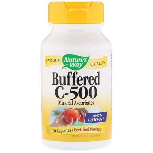 Nature's Way, Buffered C-500, 100 Capsules Review