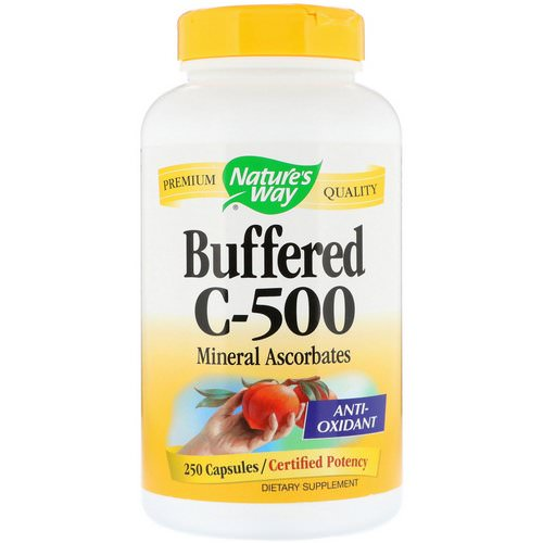 Nature's Way, Buffered C-500, 250 Capsules Review