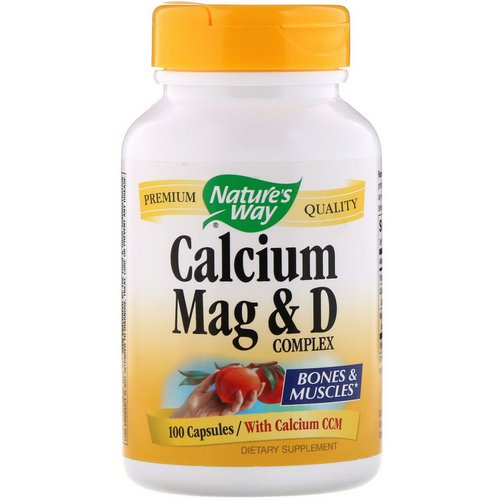 Nature's Way, Calcium Mag & D Complex, 100 Capsules Review