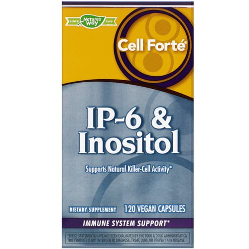 Nature's Way, Cell Forte, IP-6 & Inositol, 120 Vegan Capsules Review