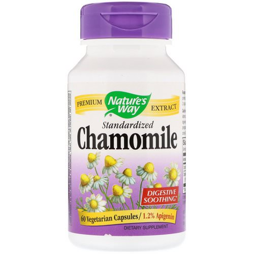 Nature's Way, Chamomile, Standardized, 60 Vegetarian Capsules Review