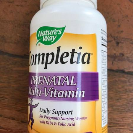 Nature's Way, Completia, Prenatal Multi-Vitamin, 240 Tablets Review
