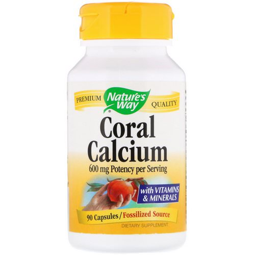 Nature's Way, Coral Calcium, 600 mg, 90 Capsules Review