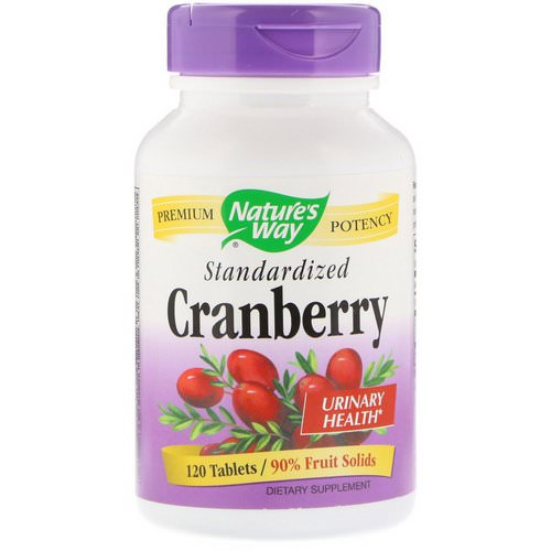 Nature's Way, Cranberry, Standardized, 120 Tablets Review