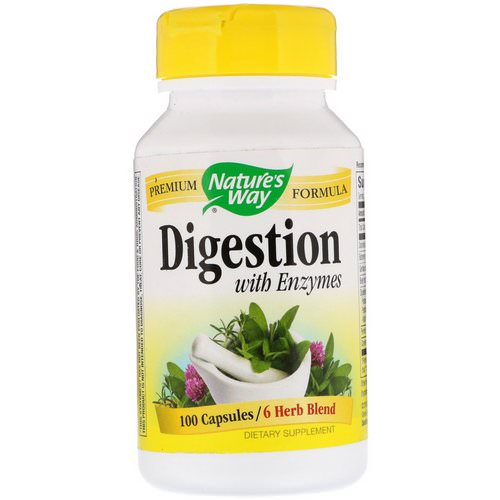 Nature's Way, Digestion, with Enzymes, 100 Capsules Review