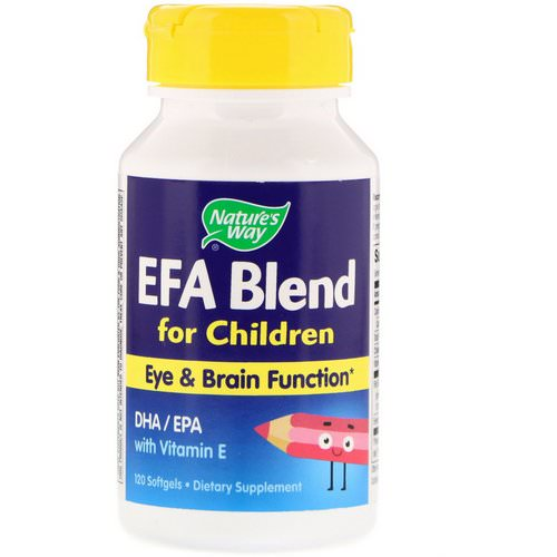 Nature's Way, EFA Blend, for Children, 120 Softgels Review