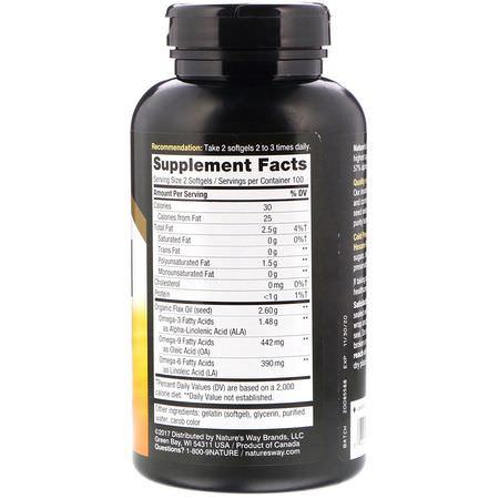 Flax Seed Supplements, Omegas EPA DHA, Fish Oil, Supplements
