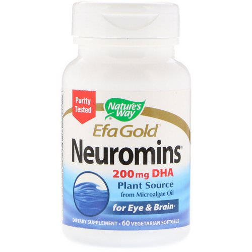 Nature's Way, EfaGold, Neuromins, 60 Vegetarian Softgels Review