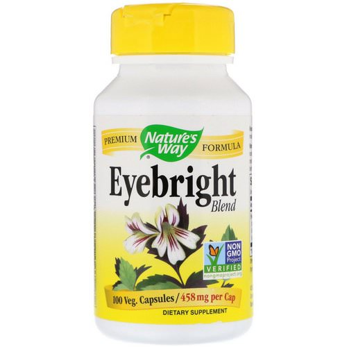 Nature's Way, Eyebright Blend, 458 mg, 100 Veg. Capsules Review