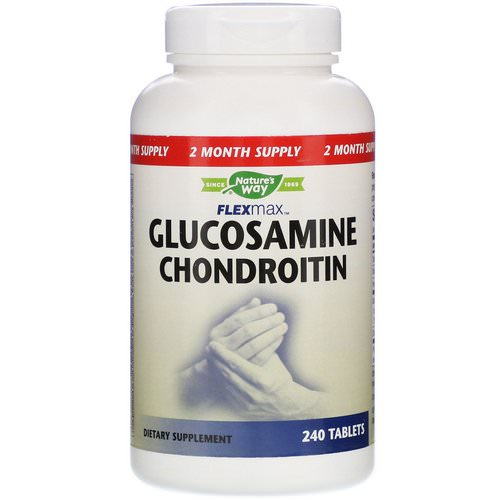 Nature's Way, FlexMax, Glucosamine Chondroitin, 240 Tablets Review
