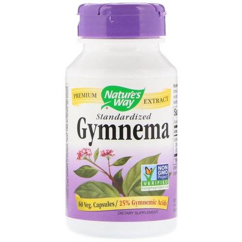 Nature's Way, Gymnema, Standardized, 60 Veg. Capsules Review